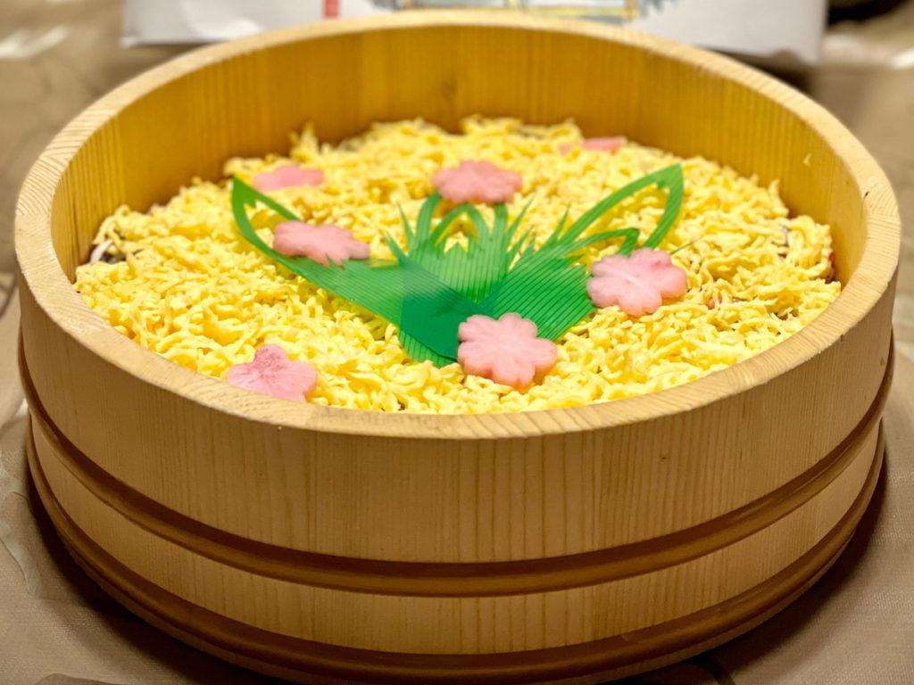 食事処おくいの焼さば寿司