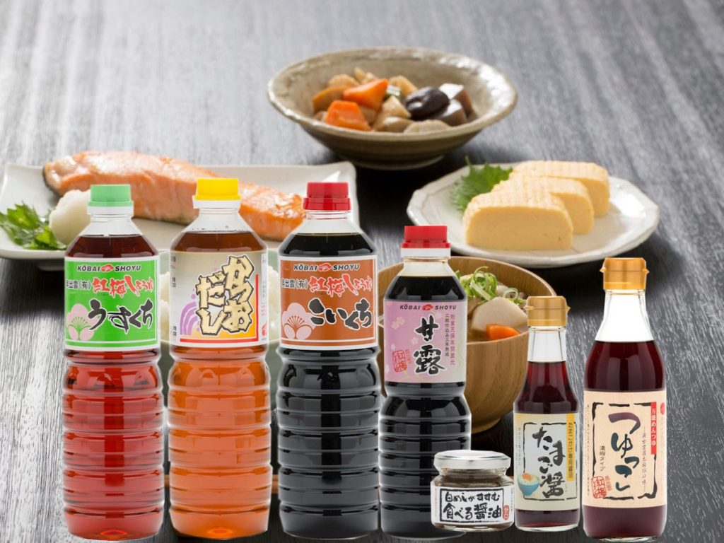醤油(紅梅しょうゆ)
